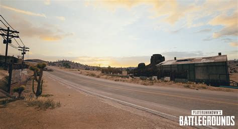pubgs latest test build reveals  draft    desert