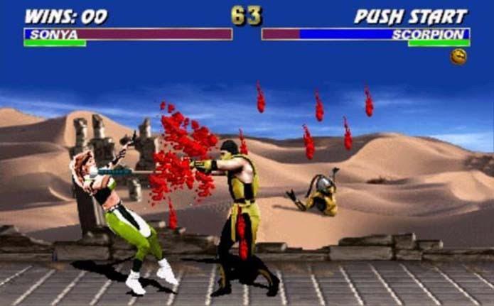 Mortal Kombat 3 refinou a fórmula de sucesso do game (Foto: Reprodução)