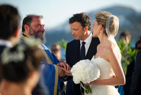 casamento de Phoebe Papadoulos e Nicolas de Croisset