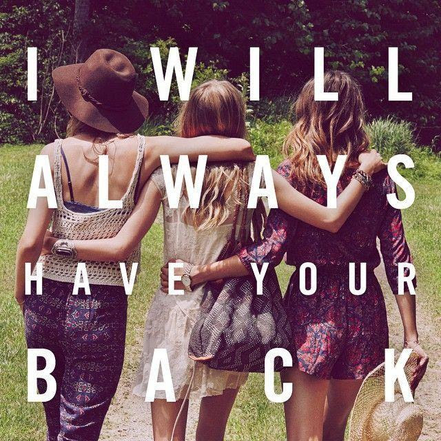 I Will Always Have Your Back Picture Quotes