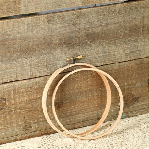 Wood Embroidery Ring Hoop   Plastic Canvas   Basic Craft