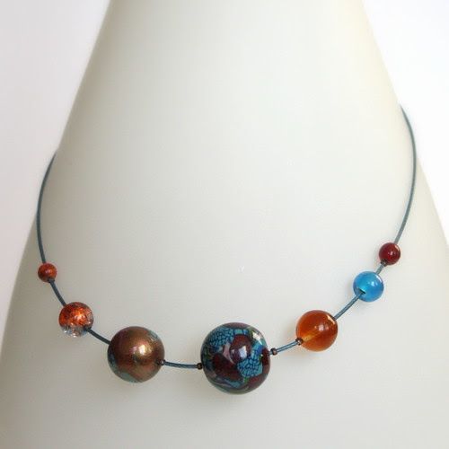 Orbital Necklace - Planetary System FLORITICITAS BEAULAGE
