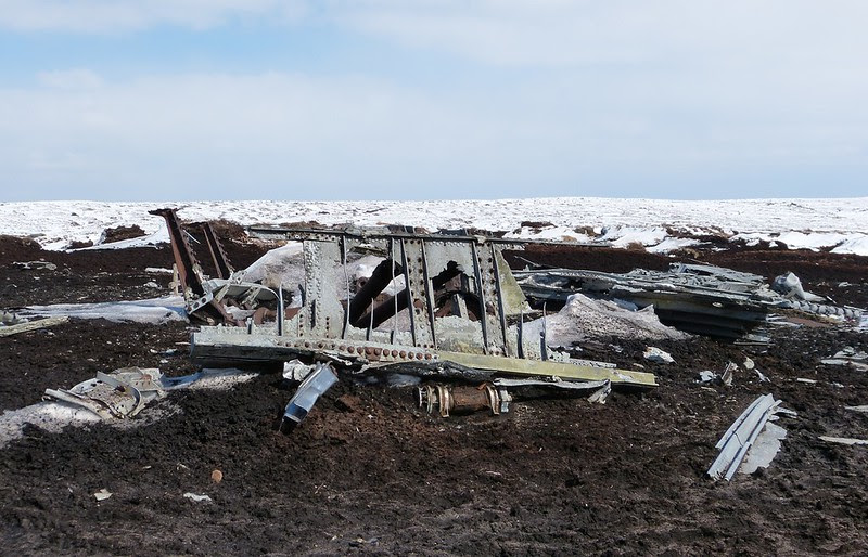 29468 - Overexposed Crash Site, Bleaklow