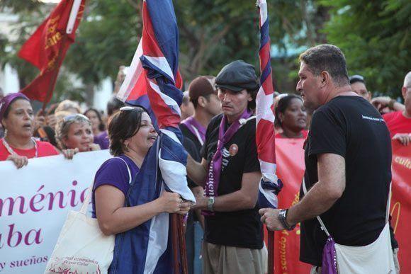 Miembros de la Red Ecuménica Fe por Cuba en un Encuentro Nacional. Foto: Cortesía CMLK.