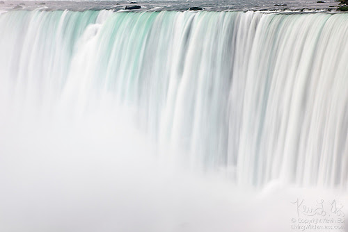 Horseshoe Falls Dropping into Mist, Niagara Falls