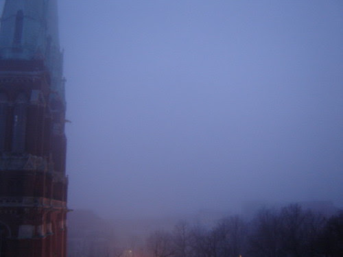 fog in March