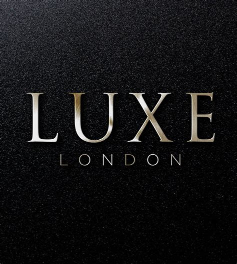 logo design luxe london jm graphic design