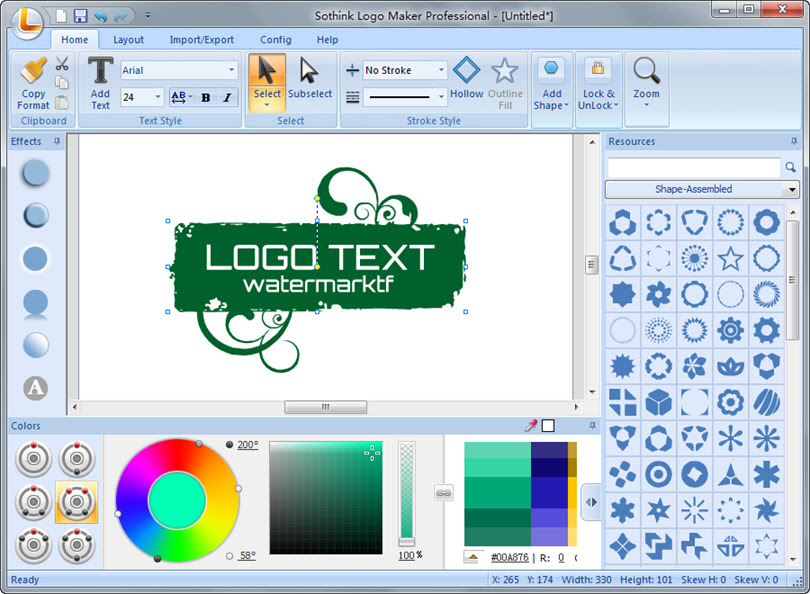 Logo Design Studio Pro Vector - Icons Software Download for PC