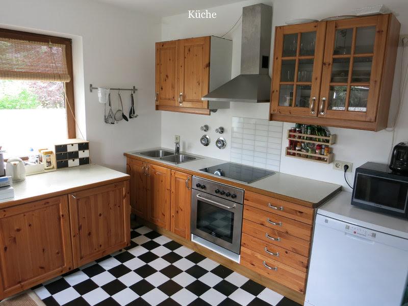 ikea küchen vollholz  eine moderne massivholzküche der