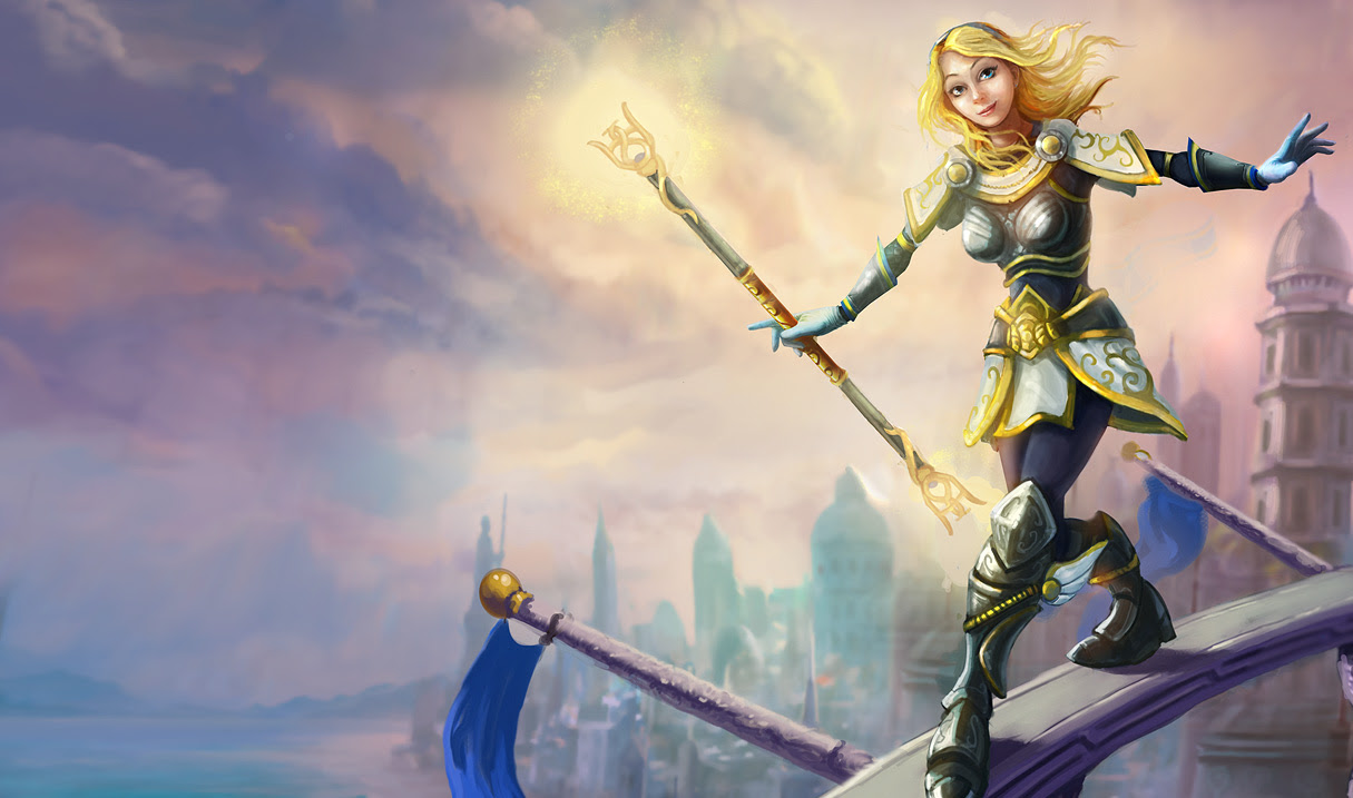 Lux Classic Skin Old League Of Legends Wallpapers