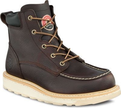 Irish Setter Men's 6 in. EH Soft Toe Boot by Red Wing Briar Turbo Vegas Size 7 D