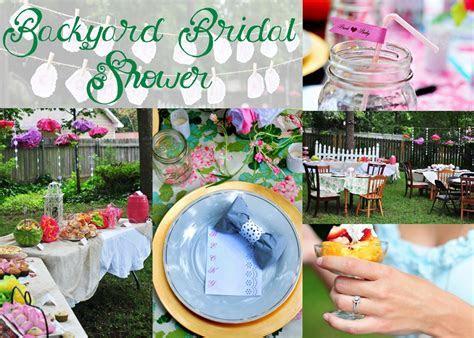 Backyard Bridal Shower Brunch   Birds of the Feather