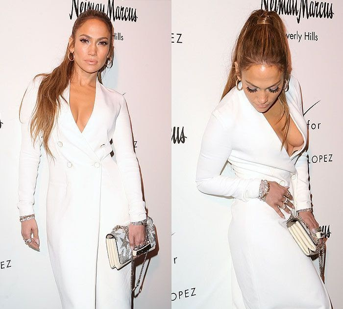 Jennifer Lopez Suffers Onstage Wardrobe Malfunction - E