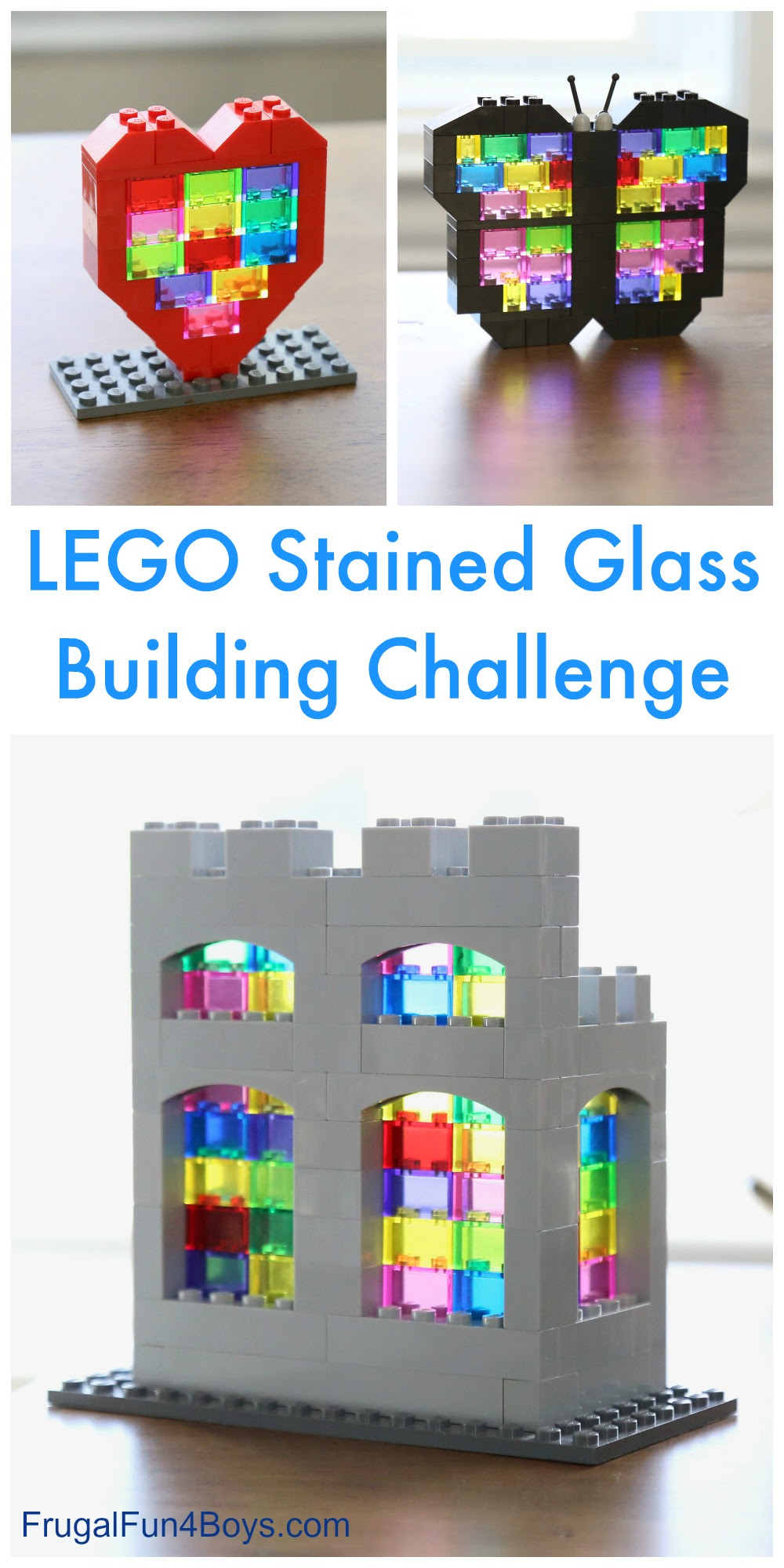 Stained Glass Lego Building Challenge Frugal Fun For Boys And Girls