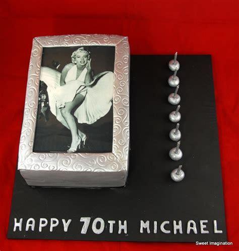 Marilyn Monroe birthday cake   Sweet Imagination