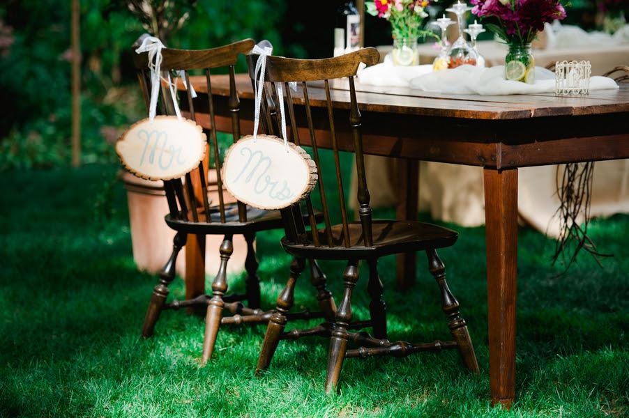 Budget Wedding  rustic Backyard signs  Fall fall Chic Rustic Wedding
