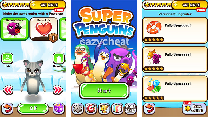 Super Penguins v2.1.2 Cheats