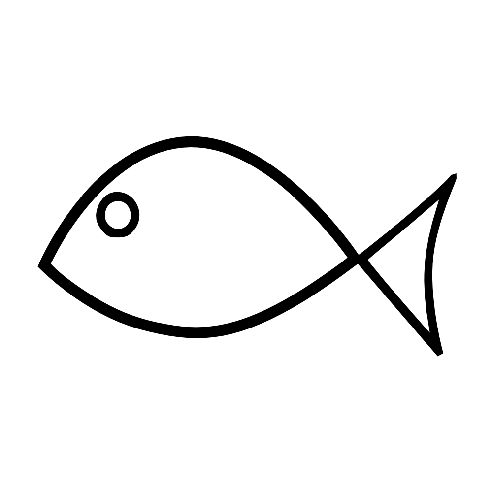 Download Simple Fish Clipart Black And White Clip Art Library