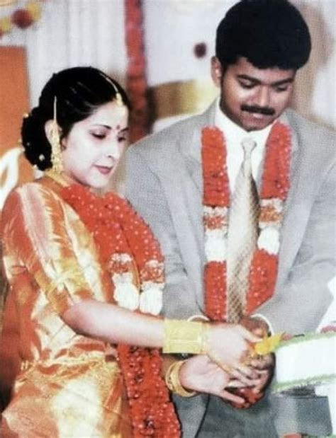 Happy Wedding Anniversary Vijay and Sangeetha: Rare and