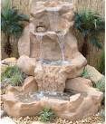 Paradise Spillway Water Fountain - traditional - outdoor fountains ...