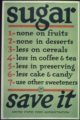 """Sugar Save It."", ca. 1917 - ca. 1919"