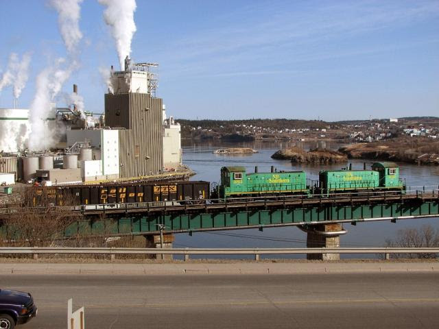 NBSR 3702 and 3703, Reversing Falls