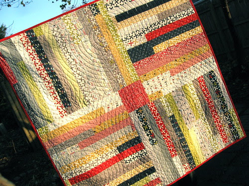 Four Corners quilted