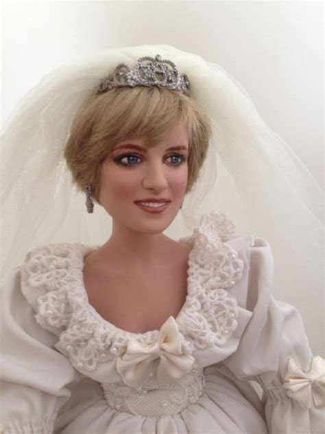 Ashton Drake Princess Diana Porcelain Wedding Doll