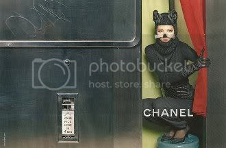 Chanel Fall 2011 Feline Ad