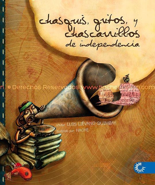 Ilustración Portada Chasquis, final por Hache Holguín