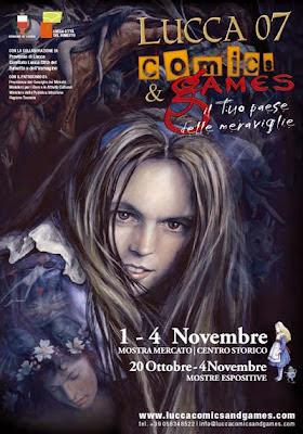 Il manifesto di Lucca Comics & Games 2007