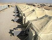 Impianti di aria condizionata in Iraq: le tende sono trattate con schiuma di poliuretano per risparmiare energia (Steven Anderson)