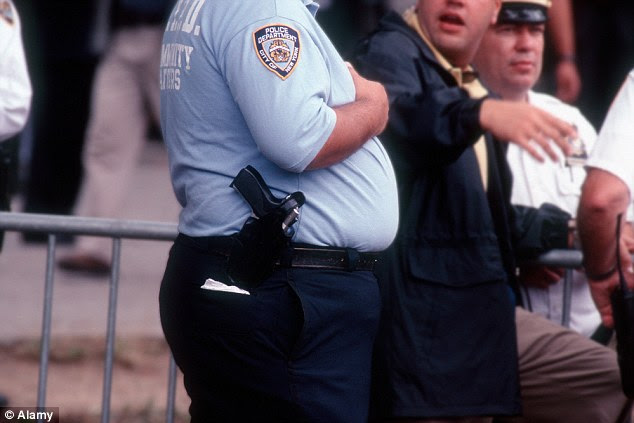 Image result for overweight cop