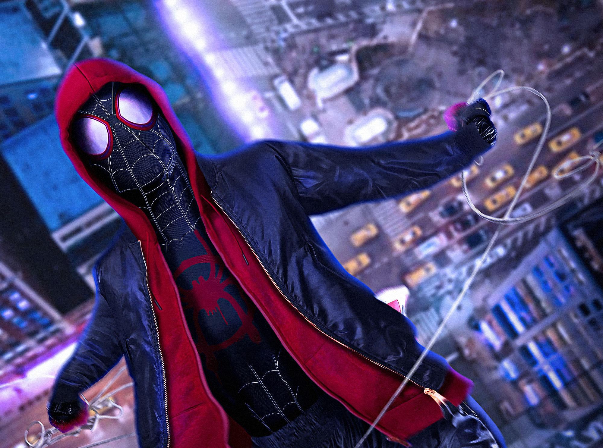 Spiderman Into The Spider Verse 2018 Hd 4k Wallpaper