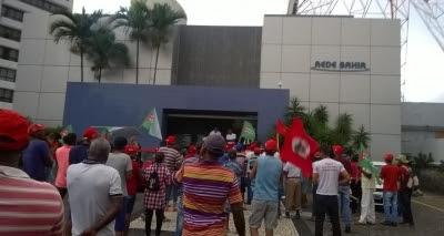 MST invade Rede Bahia