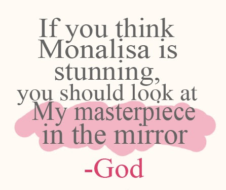 Quotes About Look At Yourself In The Mirror 43 Quotes