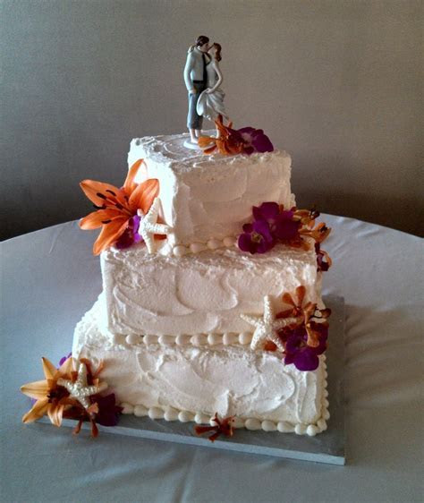 281 best images about Beach Wedding Cakes on Pinterest