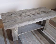 Barn Wood Tables on Pinterest