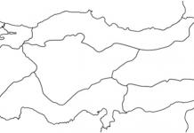 Türkiye Boyama Haritası Boş Türkiye Haritası