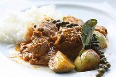 Curry de porc Thai
