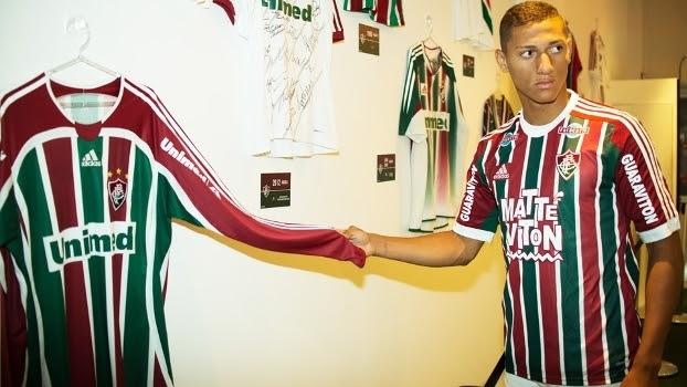 Richarlison Apresentação Fluminense 29/12/2015