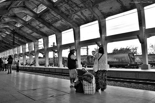 Estación de Trenes Rancagua, Chile. by Alejandro Bonilla