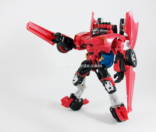 Transformers Swerve RotF Deluxe - modo robot