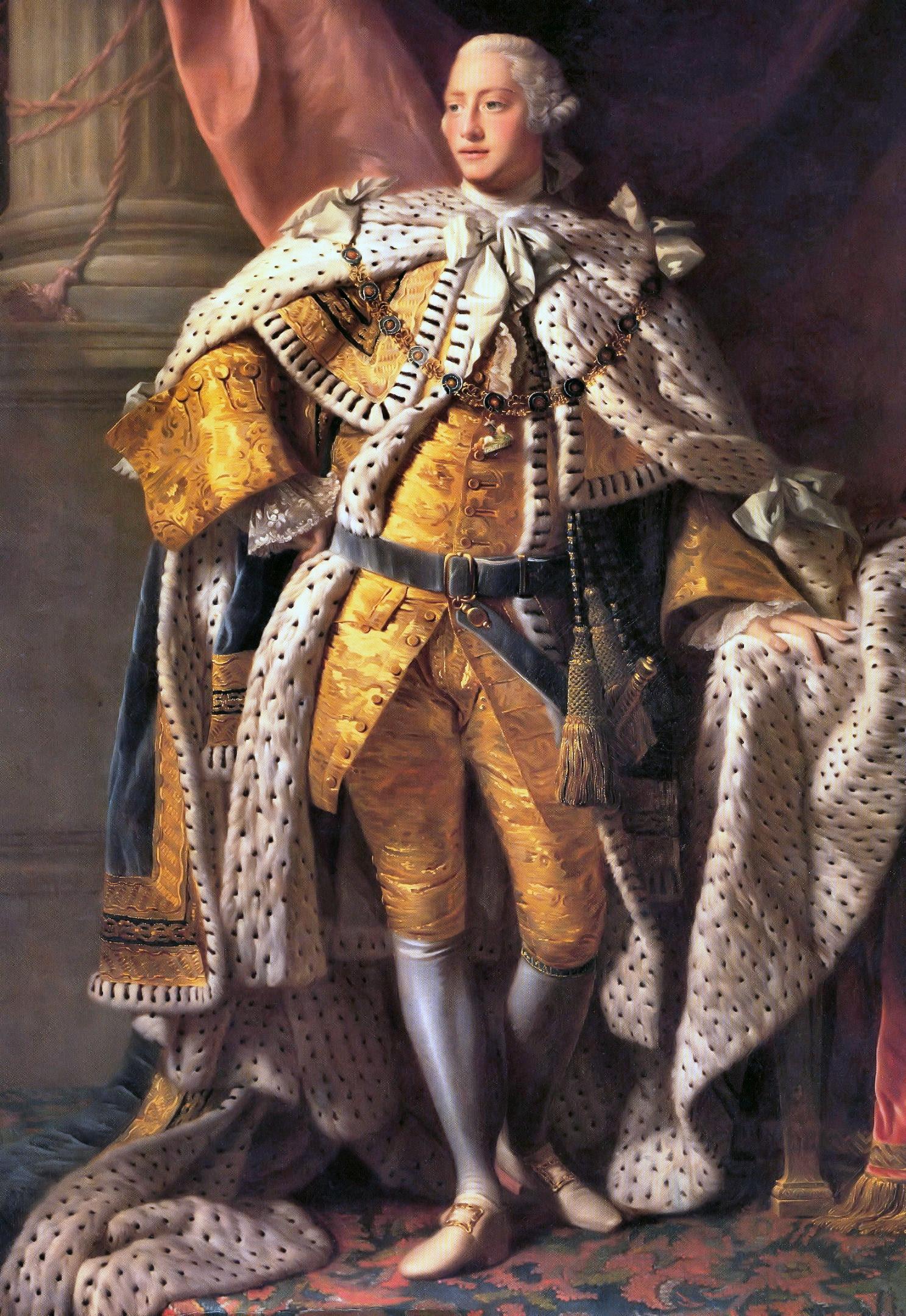 Allan Ramsay: King George III in coronation robes
