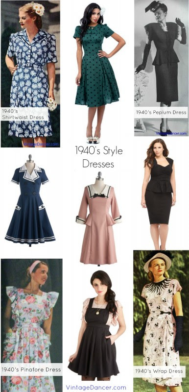 1940s dress 1940s style dresses for sale