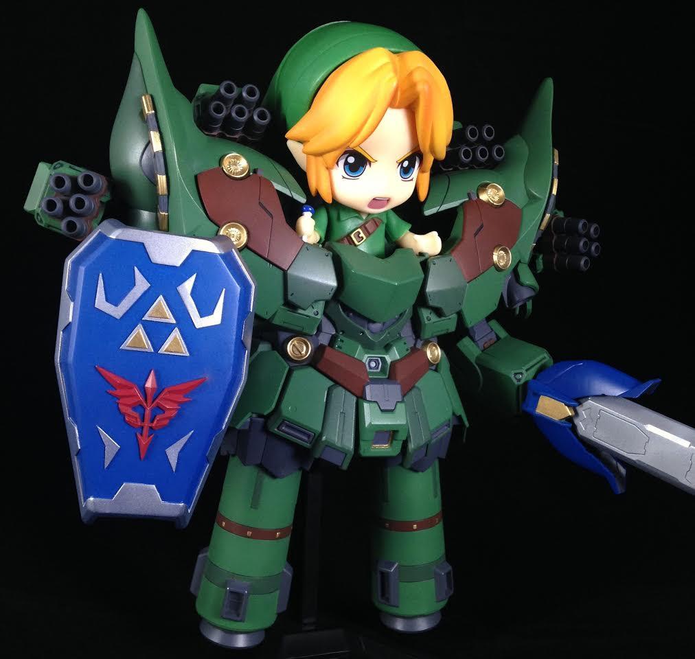 This Legend of Zelda mecha mashup is delightful screenshot