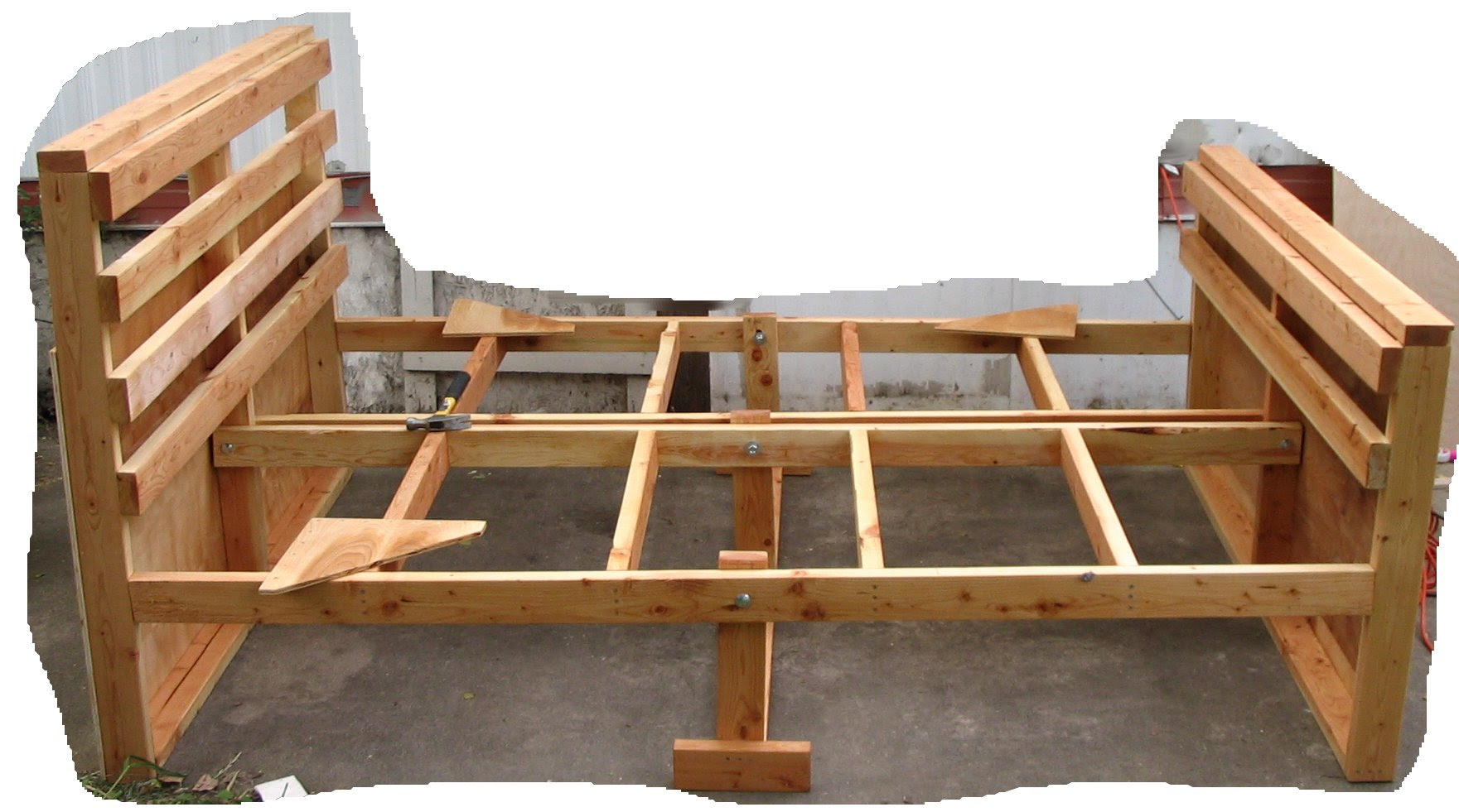 Woodworking Plans For Bed Frame ~ wood working projects
