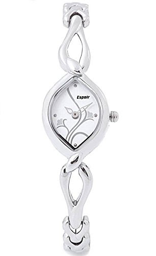 Deals on Espoir Floral Analog White Dial Women's Watch