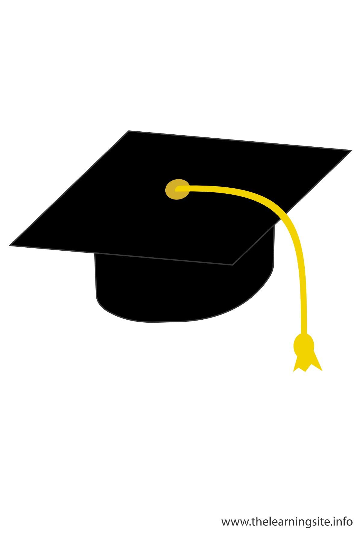 Graduation hat black graduation cap clipart clipartfest