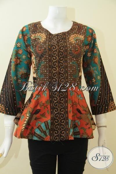 Image de Eau: Desain Baju Batik Wanita Modern Terbaru